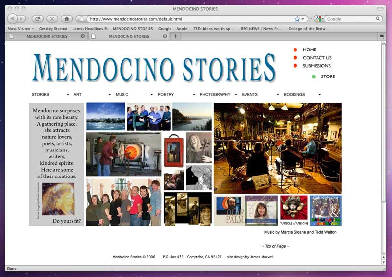 Mendocino Stories